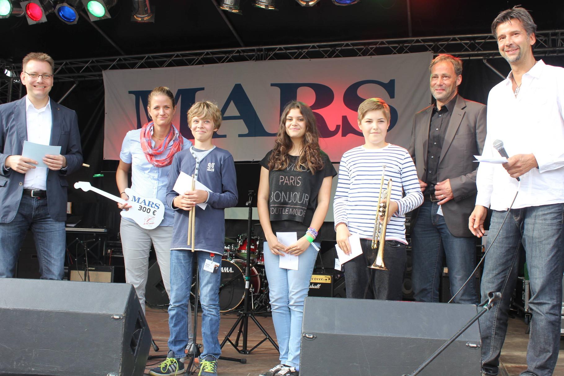 Vergabe des Mars-Förderpreises an junge Musiker