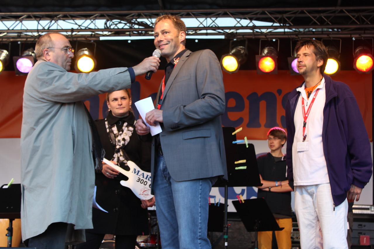 Michael Spöring - musikalische Leiter von Jugend Jazzt - im Interview.