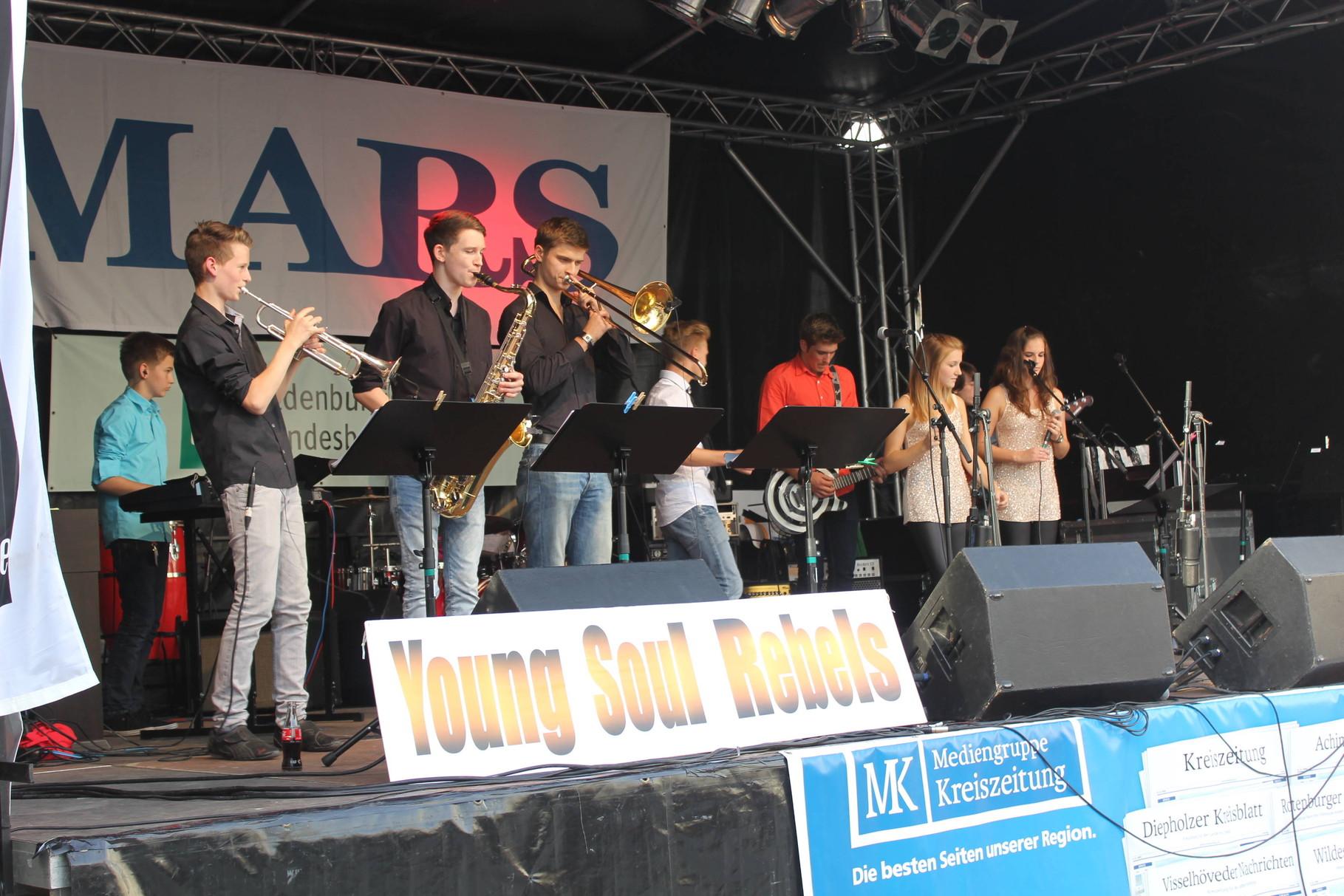 Young Soul Rebels - Gewinner des Band-Wettbewerbs, gefördert durch die Oldenburgische Landesbank