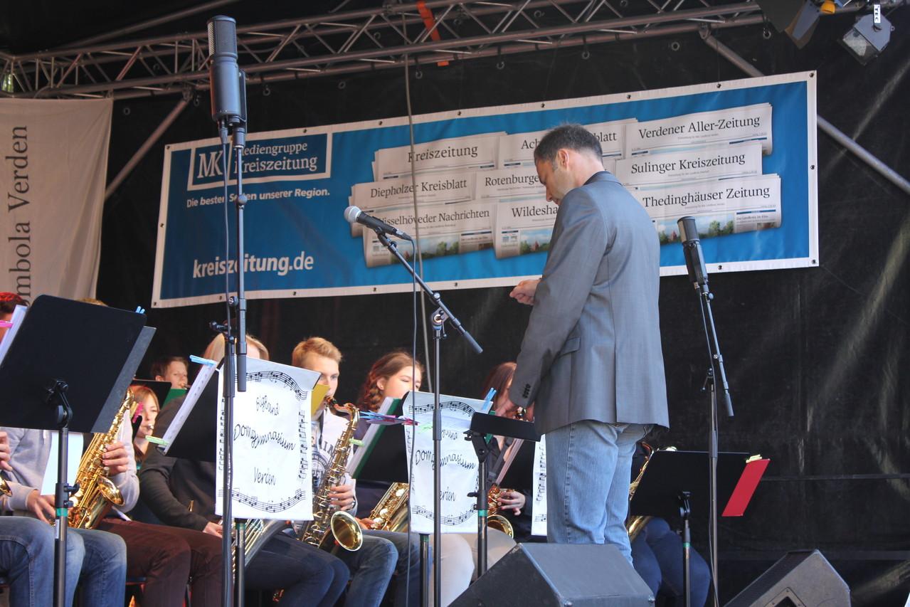 Die Big Band des Domgymnasium Verden
