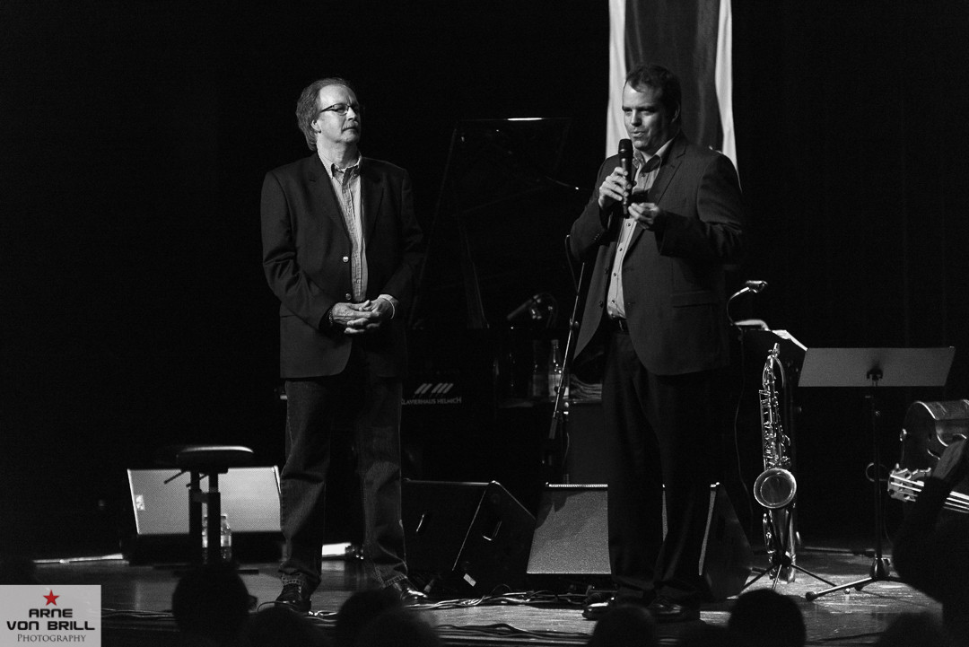 Eröffnung der 16. Verdener Jazz und Blues Tage durch den Schirmherren Landrat Peter Bohlmann