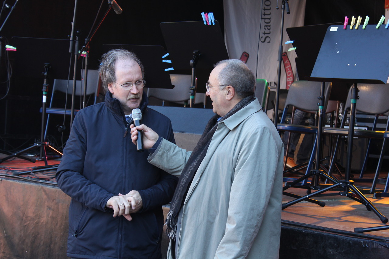 """Der 1. Vorsitzende des Vereins """"Verdener Jazz und Bluestage e.V."""" Volkmar Koy im Interview"""