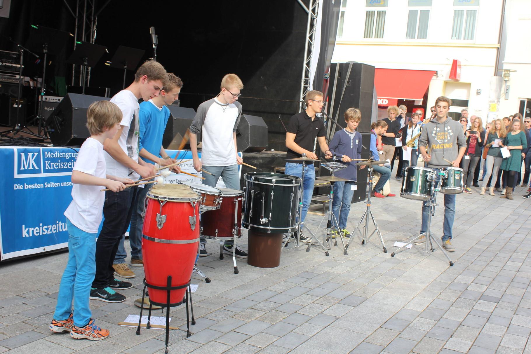 Der Schlagzeug-Workshop
