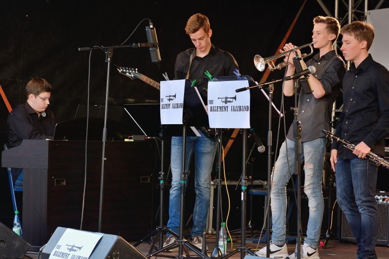 Gewinner des OLB-Bandpreises: Basement Jazzband;                                            Bild: S. Bothmer