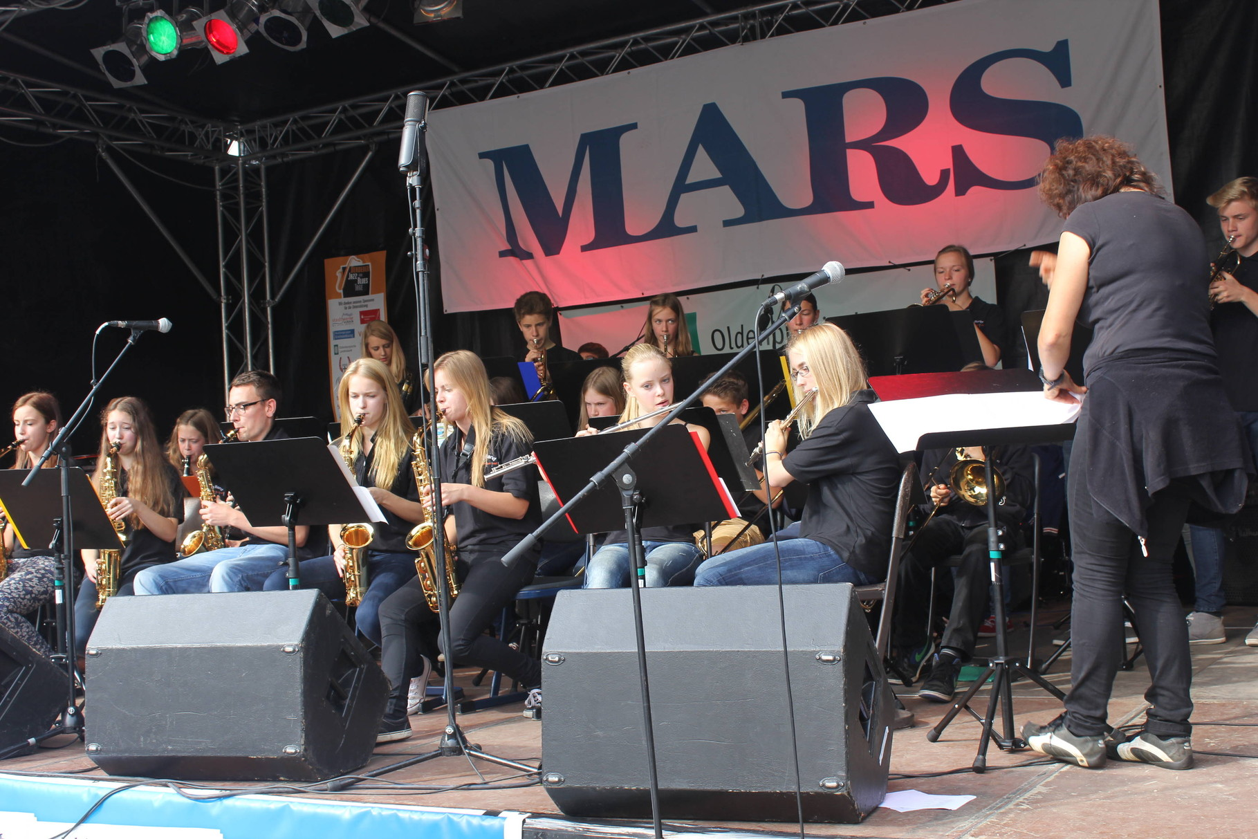 Big Band des Gymnasiums am Wall