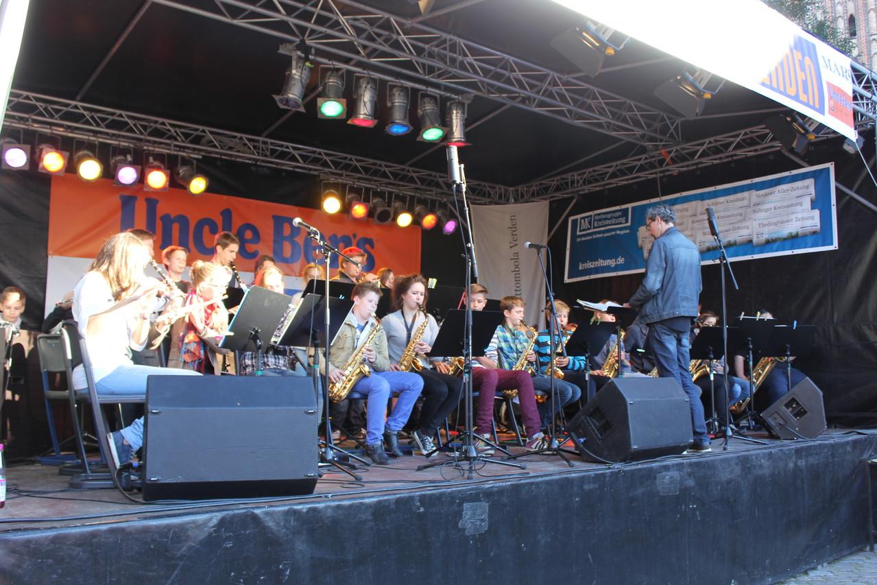 Jugend Jazzt - Die JazzDogs des Domgymnasium Verden