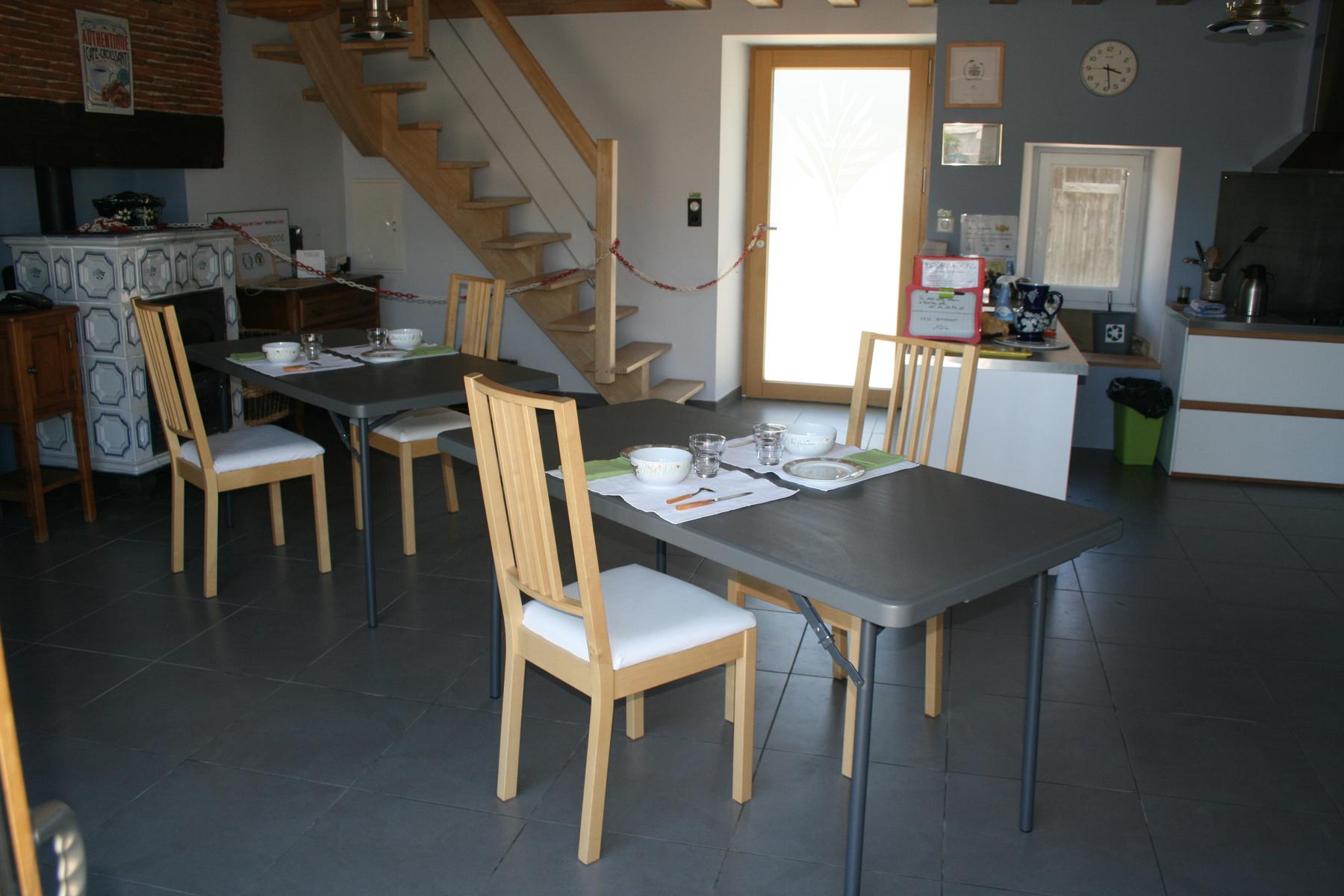 La salle à manger version COVID 19