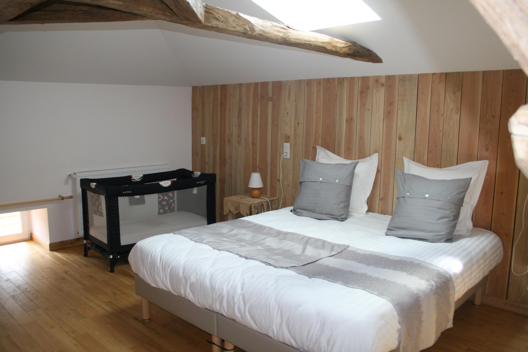 La chambre Charente version couple + BB
