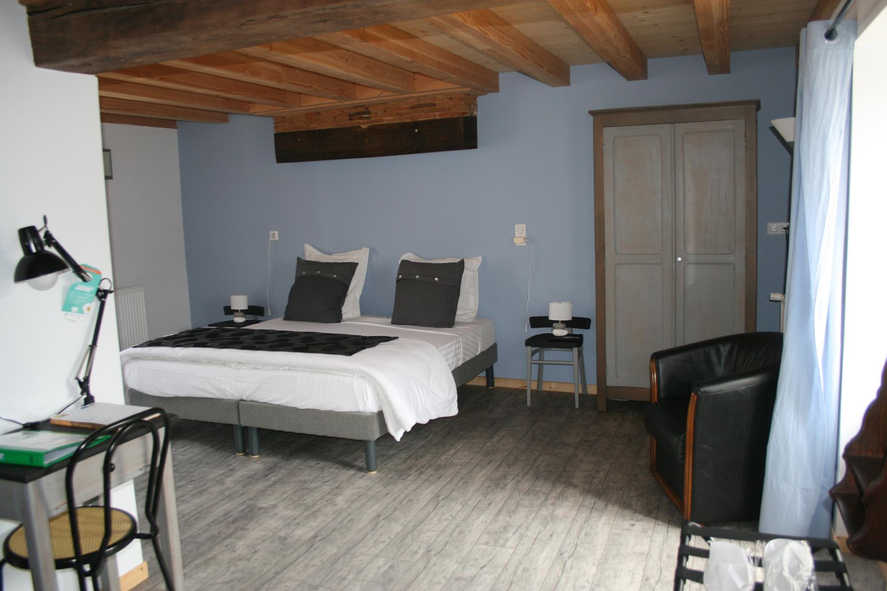 La chambre Alsace lit double