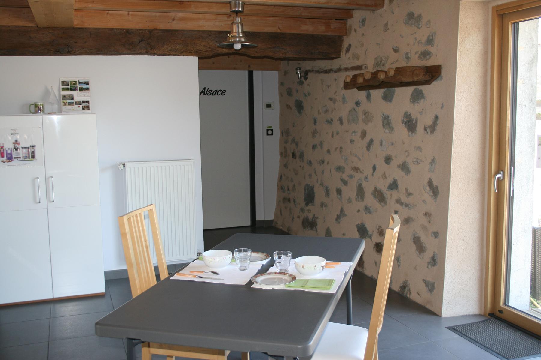 La table de la chambre Alsace