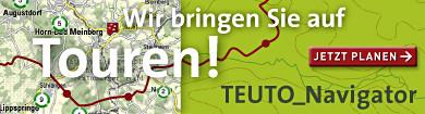 Teuto Navigator Touren planen im Teutoburger Wald