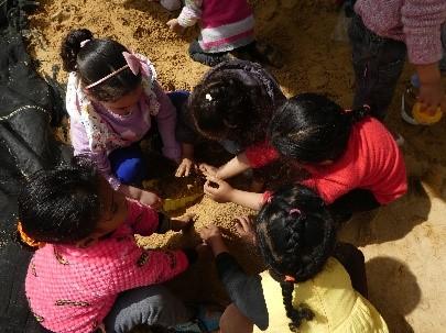 Many children get together!