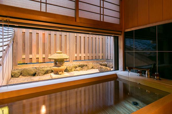 客室桧風呂 祇園
