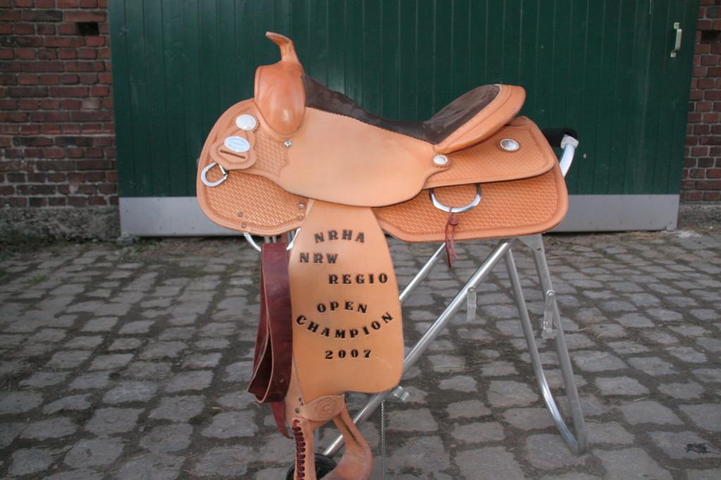 NRHA Champion Sattel