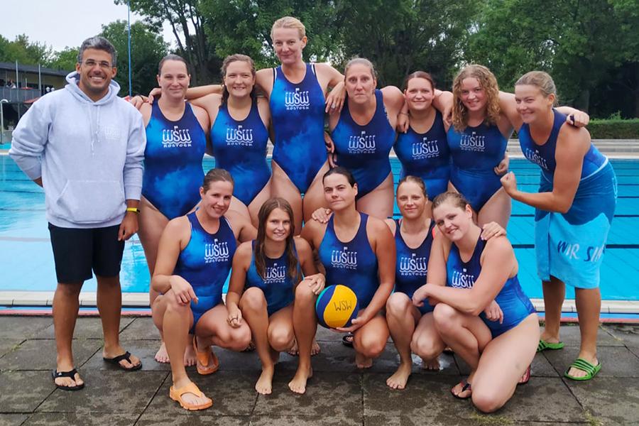 Das Frauen-Team des WSW Rostock beendet die Saison 2018/2019 auf dem zweiten Tabellenplatz der 2. Bundesliga Nord
