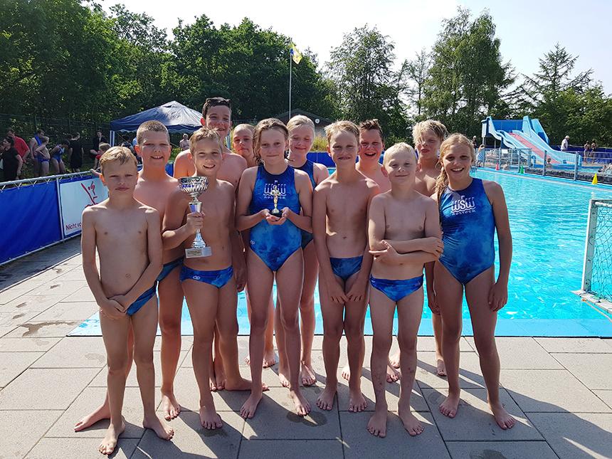 Die alten und neuen Meister in der Jugendliga Nordwest: die U12 des WSW Rostock