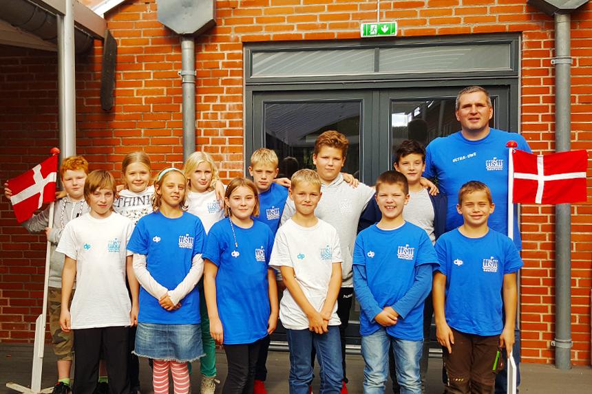 Die U11 des WSW freut sich über ein gelungenes Turnierwochenende in Dänemark