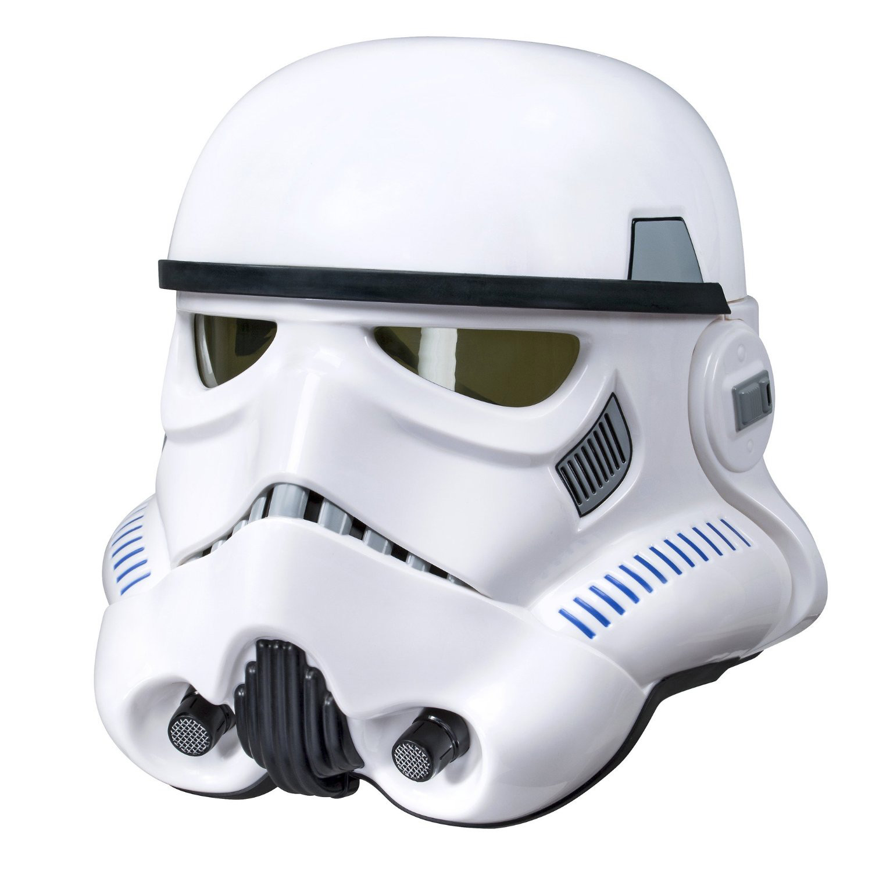 Stormtrooper Helm mit elektr. Stimmverzerrer