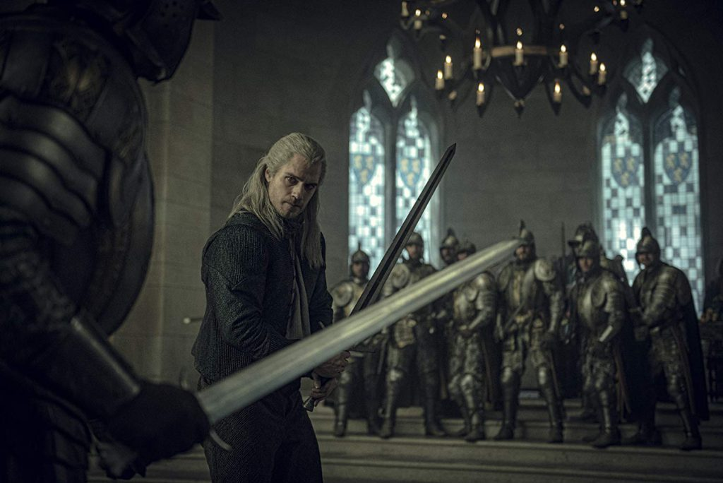 the witcher netflix serie review kritik fanwerk deutsch henry cavill