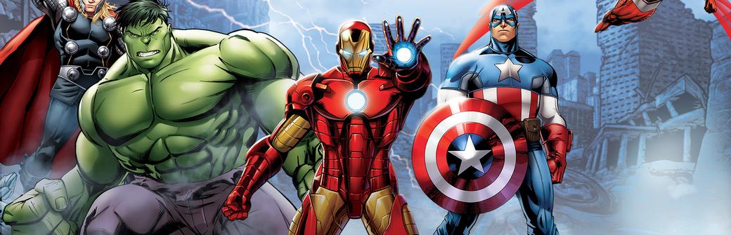 Die Superhelden-Sammlung abonnieren Marvel Iron Man Captain America Hulk Thor Comics