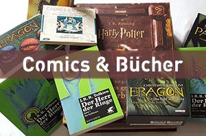 Comics und Bücher