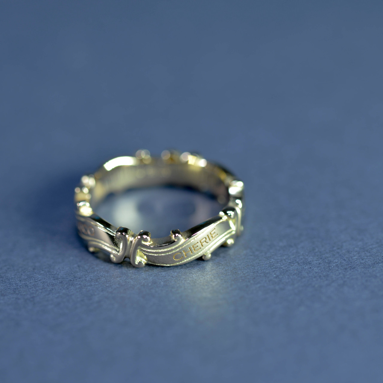 Promesse Ring 4ヵ所 メッセージ変更
