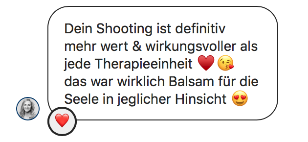 Meinungen meiner Gäste zum Shooting
