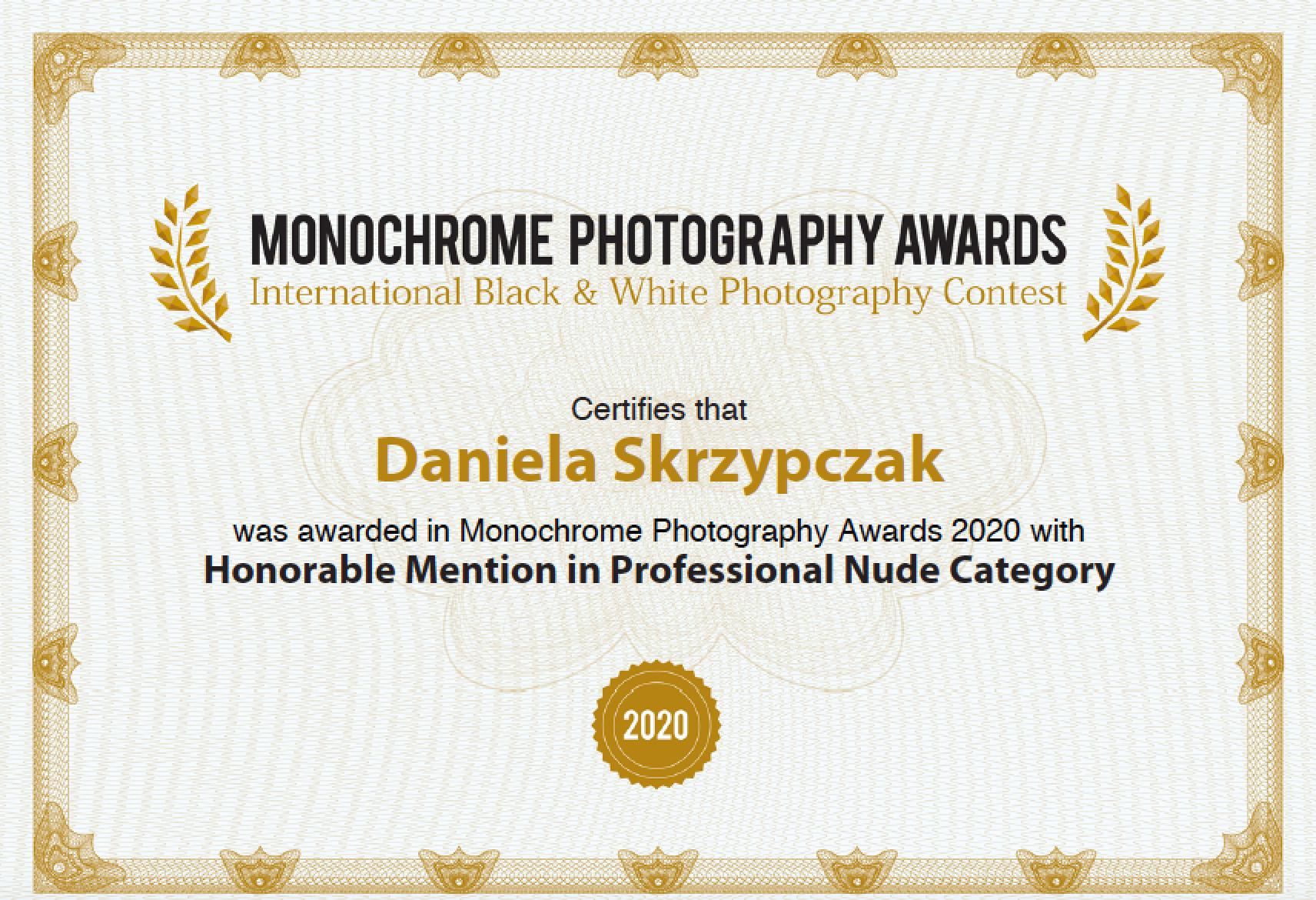 Monocrome Photography Award