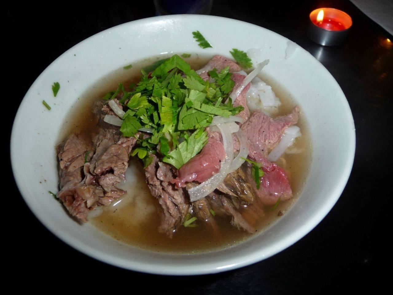 Pho, soupe vietnamienne