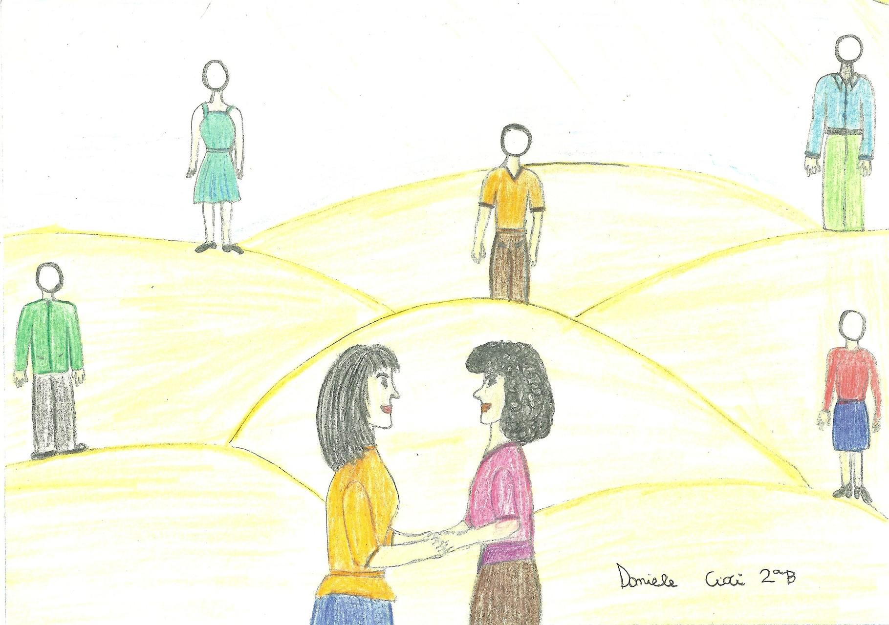 Disegno realizzato da Daniele Cioci