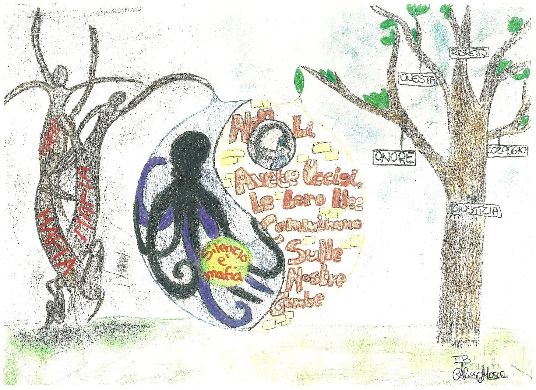 Disegno realizzato da Alice Mosca