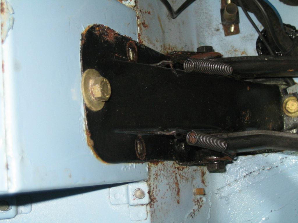 TR3 Pedalträger