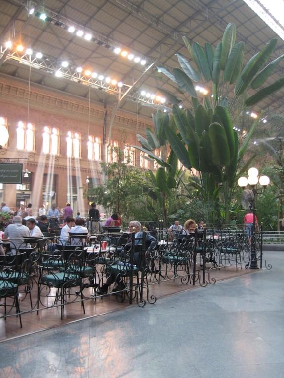 La gare d'Atocha