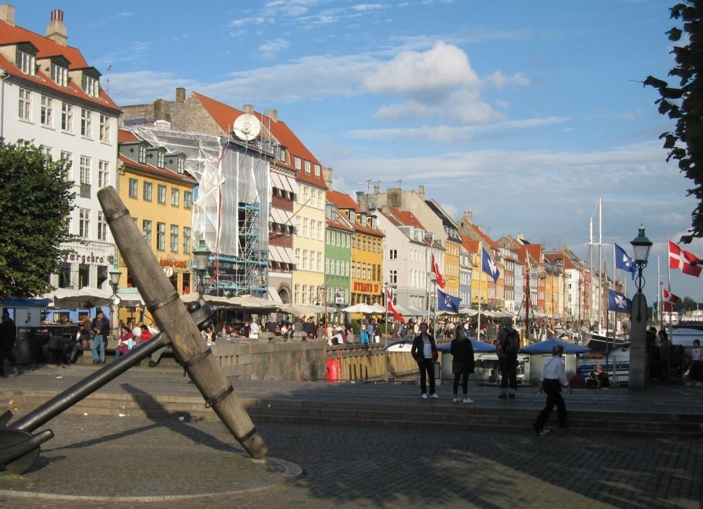 """Nyhavn, le """"nouveau port"""""""