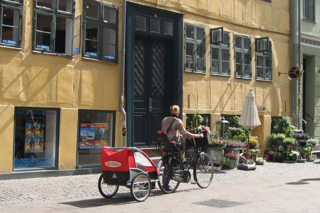 le vélo et ses usages familiaux