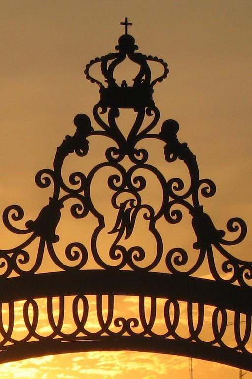 Le soleil se couche sur la Belle Madrid