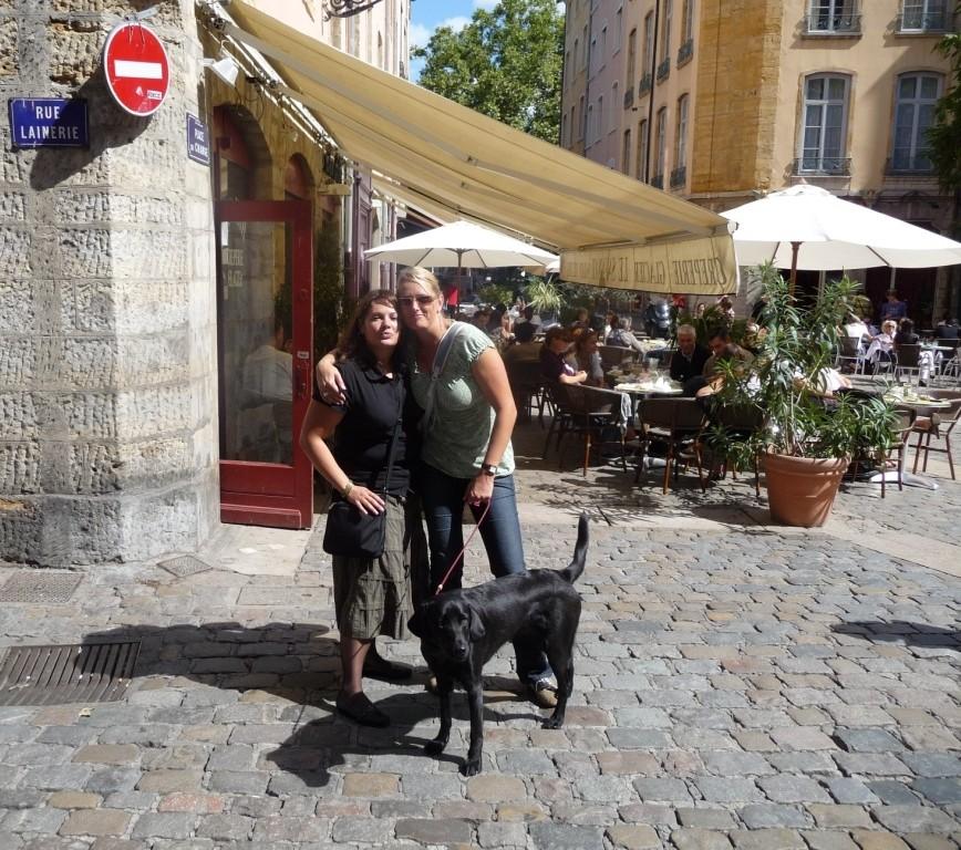 Dans le vieux Lyon