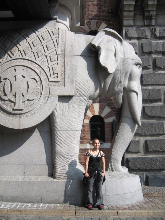 Les éléphants de Carlsberg... et Emma