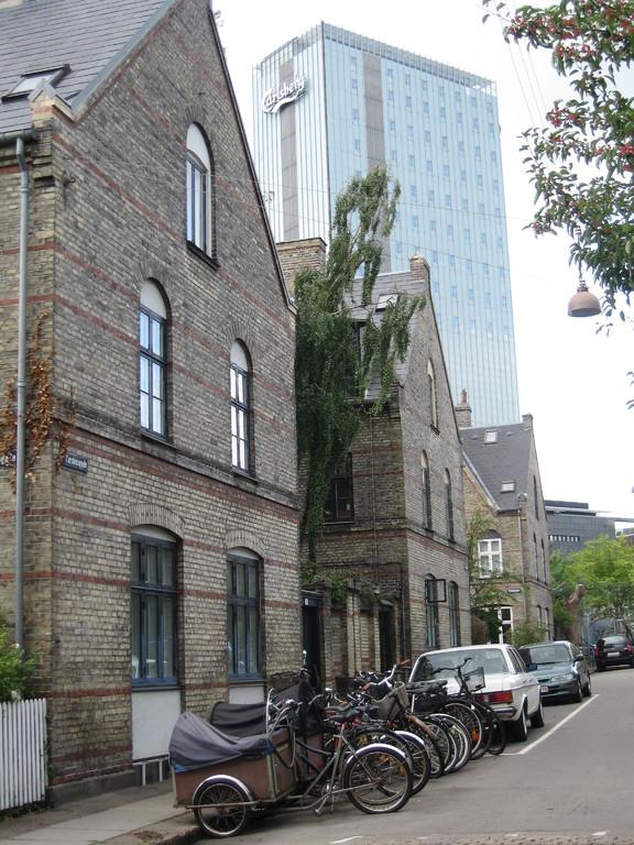 Ancienne cité ouvrière de la brasserie Carlsberg