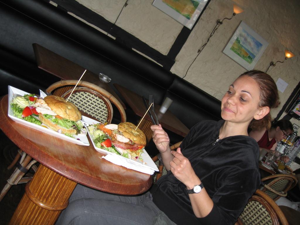 pause déjeuner typiquement danoise : le sandwich !