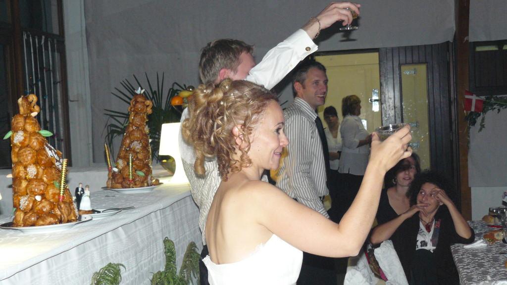 et champagne !