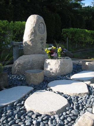 山田家の墓 周囲の写真