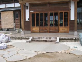 石畳・延段の施工例1