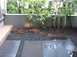 水鉢の施工例4