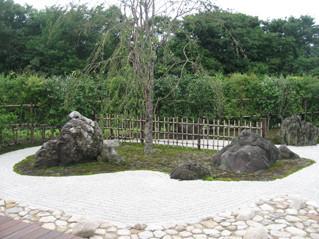 いくとぴあキラキラガーデン 日本庭園の景石