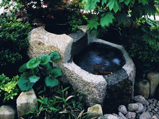 水鉢の施工例3