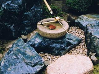水鉢の施工例1
