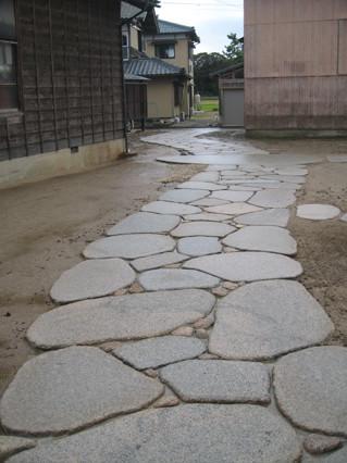 石畳・延段の施工例3