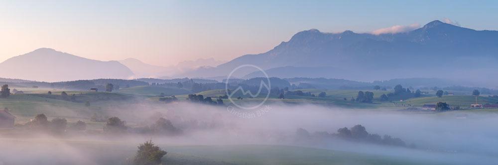 #13 Alpenvorland mit Heimgarten und Herzogstand