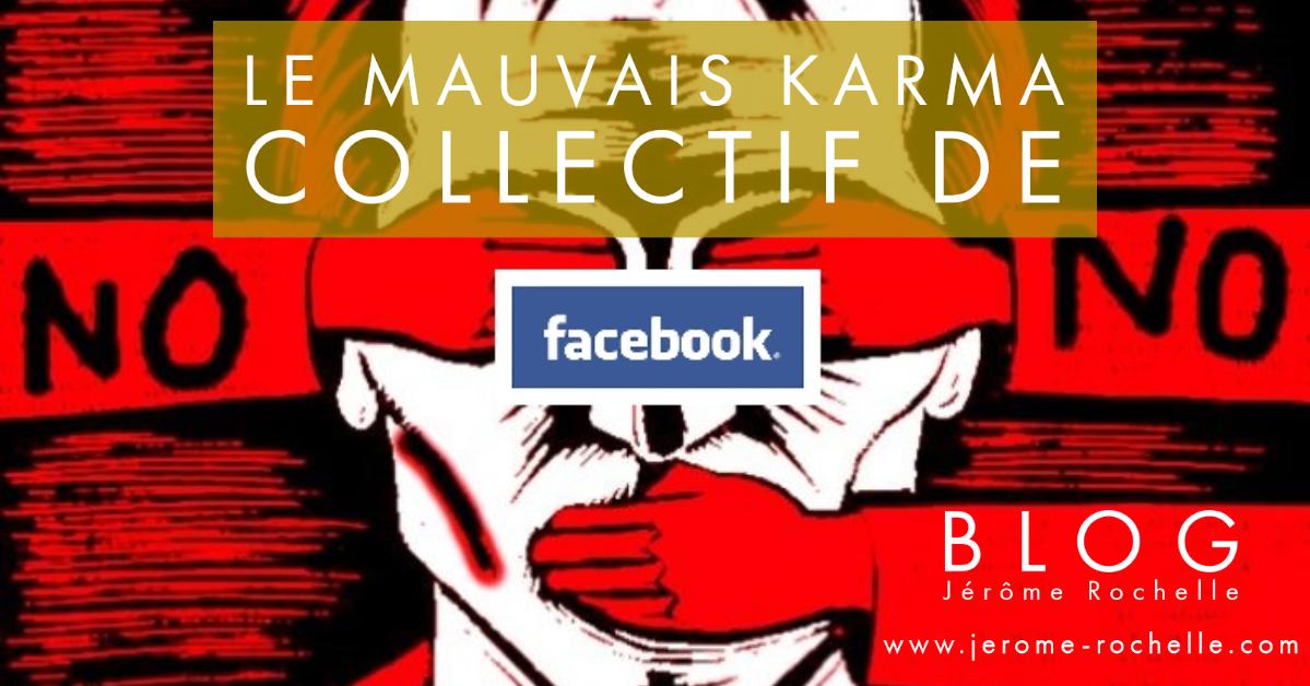 Le Mauvais Karma Collectif de Facebook - l'égrégore toxique du plan causal et des illusions
